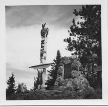 Image of Thomson Totem Pole and Carin