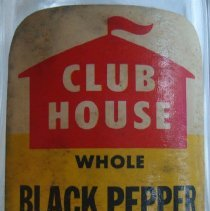 Image of Club House Pepper Shaker label