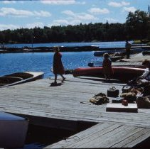 Image of 2014.16.114 - Cache Lake Dock 1953