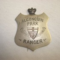 Image of Badge, Identification - Early Park Ranger Badge