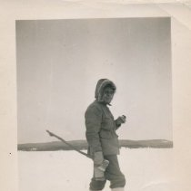 Image of Zeph A. Nadon Snowshoeing