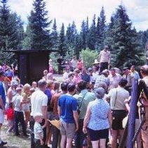 Image of Pioneer Logging Exhibit Demonstration