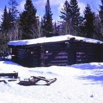 Image of 2016.9.23 - Winter Log Cabin