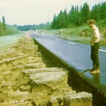 Image of Washed Out Road