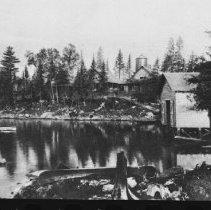 Image of 2252 - Nominigan Camp, Smoke Lake.