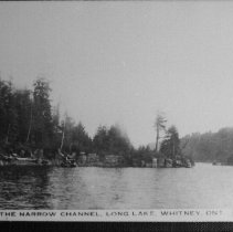 Image of 4574 - The Narrow Channel, Long Lake, Whitney, Ont.