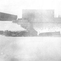 Image of 1913 - Grand Trunk Railway freight train crash on Joe Lake bridge, March 17, 1913
