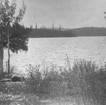 Image of 127 - View of a lake from the shore.
