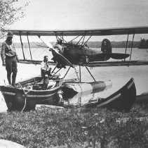 Image of 1932 - One of the first planes in the park, a Fox Moth.