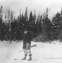 Image of 1930 - Superintendent Millar, Cranberry Lake.