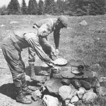 Image of 341 - Cooking at the Old Dennison Farm on Lake Opeongo.