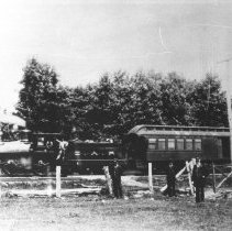 Image of 390 - Canada Atlantic Railway Locomotive #6 at Valleyfield.