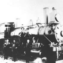 Image of 391 - Canada Atlantic Railway Locomotive #652-2-6-0.