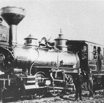 Image of 393 - Canada Atlantic Railway Locomotive # 8-Mason Bogie-0-6-6.