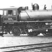 Image of 1976.95.30 - Canada Atlantic Railway Locomotive #618-4-4-2.