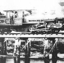 Image of 1976.95.33 - Burlington and Lemoinville locomotive Mansfield.