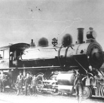 Image of 407 - Ottawa, Arnprior and Parry Sound Railway locomotive #697-2-8-0 V.C.