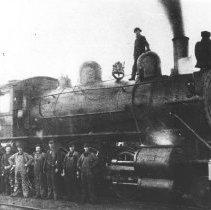 Image of 1976.95.39 - Canada Atlantic Railway locomotive #693-2-8-0 Vauclain Compound.