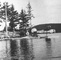 Image of 481 - MacDougall's plane at Nominigan.