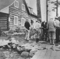 Image of 1936 - Guests at Nominigan.