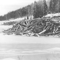 Image of 531 - General view of the softwood dump on the Amble Du Fond River