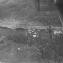 Image of 1959 - Dam and chute, Petawawa River above Lake Traverse