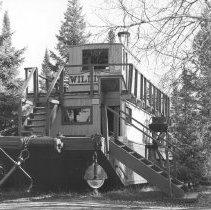"""Image of 639 - The Alligator, """"William M."""" at The Pioneer Logging Exhibit"""