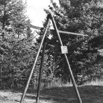 Image of 667 - Weigh scale for logs