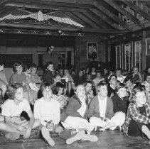 Image of 1956 - D.Roseborough at Camp Wapomeo, 1956.