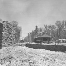 Image of May, 1951 - West Gate - under construction, May, 1951.