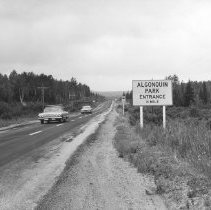 Image of 1963 - Approach to Algonquin Park, East End of Highway 60.