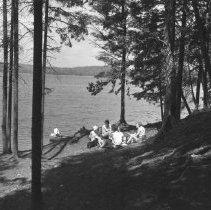 Image of 812 - Shore Scene - Canisbay Campgrounds - Pembroke District, Algonquin Park.