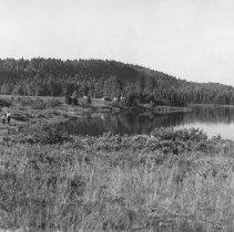 Image of 1958 - Scene at Mew Lake, 1958.