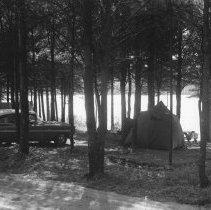 Image of 832 - Campsite - Pog Lake, Aug., 1960.