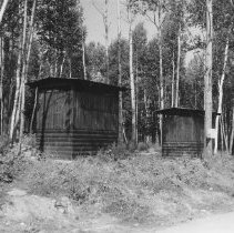 Image of 838 - Campground, Coon Lake, 1960.