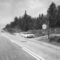 Image of 873 - Entrance to Hemlock Bluff Nature Trail 1961.