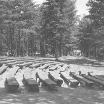 Image of 882 - Panoramic view of Lake of Two Rivers Amphitheatre, 1961.