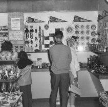 Image of 930 - Souvenir Shop, Lake of Two Rivers, 1963.
