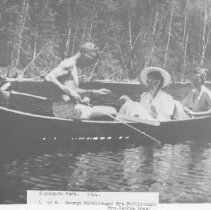 Image of 977 - L.R. George McCullough, Mrs. McCullough, Mrs. George Drew.