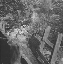Image of August, 1959 - Chute from Ragged to Smoke Lake, Aug., 1959.