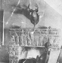 Image of 1016 - Mowat Lodge, Fireplace.