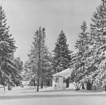 Image of 1152 - Cache Lake, Superintendent's office and residence in background.