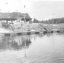 Image of 1160 - Dock at Cache Lake, 1933