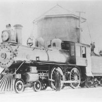 Image of 1163 - Locomotive, Canada Atlantic Railways.