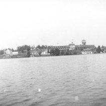 Image of 1929 - The Highland Inn from Rigby's Island