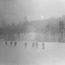 Image of 1238 - Railway survey crew on snowshoes