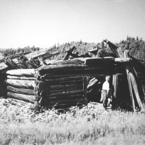 Image of 1261 - Remains of building, Burntroot Lake