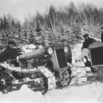 Image of 1288 - First tractor used by McRae Lumber Company
