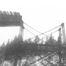 Image of 1327 - Big trestle between Cache Lake and Lake of Two Rivers.