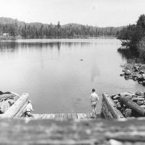 Image of 1351 - Dam, Annie Bay, Opeongo.